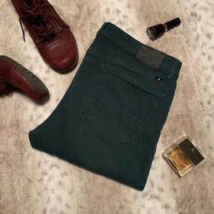 Lucky Forest Green Lolita Skinny Jeans